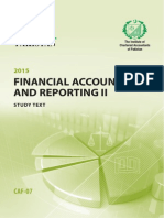 Financial Reporting II