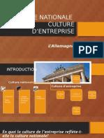 Nationale - Culture d'Entreprise