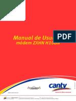 Manual del Usuario módem ZXHN H108N