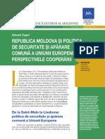 RM si politica de securitate si aparare comuna a UE