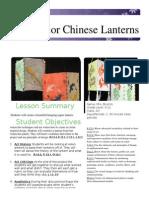 chinnese lanterns lessson plan 3-1 2