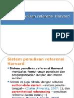 Sistem Penulisan Referensi Harvard
