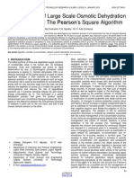 Management of Large Scale Osmotic Dehydration Solution Using the Pearsons Square Algorithm