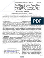 Retrofitting of Rcc Piles by Using Basalt Fiber Reinforced Polymer Bfrp Composite Part 1 Review Papers on Rcc Structures and Piles Retrofitting Works