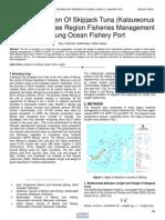 Size Composition of Skipjack Tuna Katsuwonus Pelamis in Three Region Fisheries Management in Bitung Ocean Fishery Port