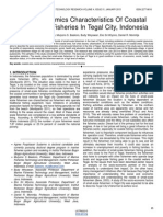 Social Economics Characteristics of Coastal Small Scale Fisheries in Tegal City Indonesia