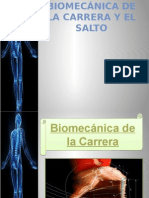 Biomecánica de La Carrera y El Salto