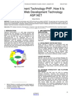 Web Development Technology Php How It is Related to Web Development Technology Aspnet