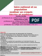 Le Territoire National Et Sa Population Demarche Complete