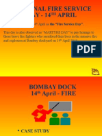 About 14th April-Fire day -Bombay Dock Fire
