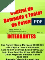 Control de Demanda y Factor de Potencia1