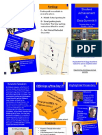 Student Achievement and Data Summit II Flyer PDF
