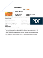 2010 Meal Plan Recipes