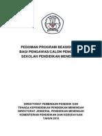 Pedoman Program Beasiswa S2 Kepengawasan 2015