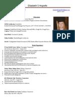 resume' for internship