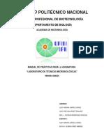 Manual de Laboratorio de Técnicas Microbiológicas