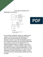 Sistemas de Encendido de Distribuidor