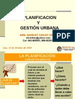 Planificacion y Gestion Urbana