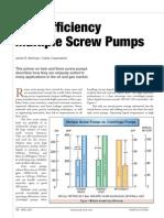 Article High Efficiency Multiple Screws