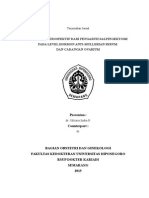 Analisis Retrospektif Dari Pengaruh Salpingektomi Pada Level AMH
