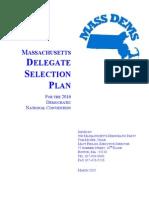 2016 Massachusetts Democratic Delegate Selection Plan (DRAFT)