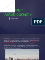 Language Autobiography