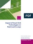 Article Impact of Smart Grid Technologies on Peak Load IEA