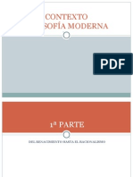 5 Contexto Filosofia Moderna