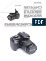 Canon Eos 1100d polish test