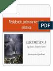 Resistencia, Potencia y Energía Eléctrica (Parte 1)
