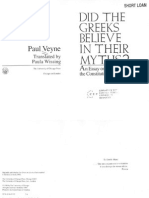 Paul Veyne-Did the Greeks Believe in Their Myths__ an Essay on the Constitutive Imagination-University of Chicago Press (1988'',)