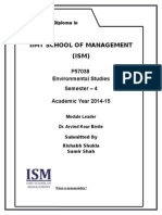 Env. Studies Assigement