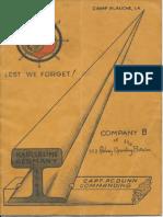 752nd Railway Operating Battalion Co. B Unit History