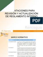Orientaciones Revision y Actualizacion r i