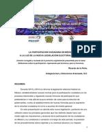 La participación ciudadana en México a la luz de la nueva legislación electoral federal