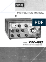 Drake tr4c user manual
