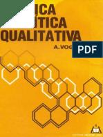 Vogel Quimica Analitica Qualitativa(1aEd 1981)