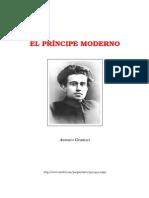 GRAMSCI escritos sobre el princeps modernus