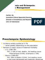 Anaesthesia Eclampsia