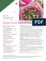 Super Food Chopped Salad