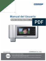 Manual Commax Cdv-43n Es