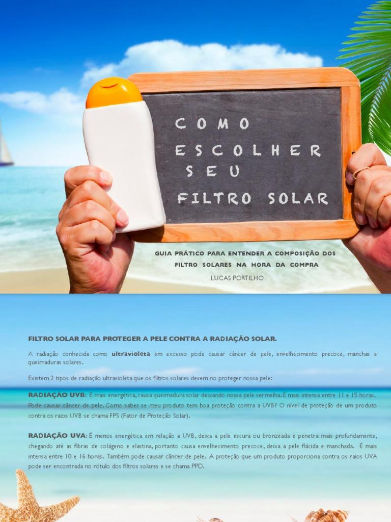 951a42a9d55d5 Como Escolher Seu Filtro Solar