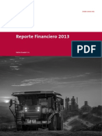 Reporte Financiero 2013 - Holcim Ecuador