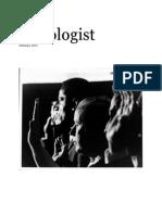 The Sociologist February 2015 Test