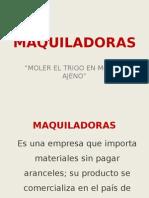 Presentacion Maquiladoras y Coltan
