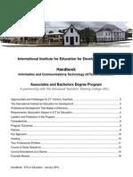 IIED 2014-2015 Handbook_Suriname