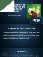 Automatizacion en La Produccion de Bocadillo de Guayaba