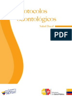 Protocolos Odontológicos Salud Bucal 2014