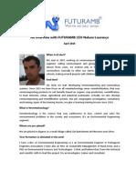 Interview with Nelson Lourenço - CEO on FUTURAMB