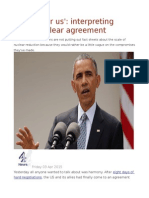 'Victory for Us' Interpreting Iran's Nuclear Agreement